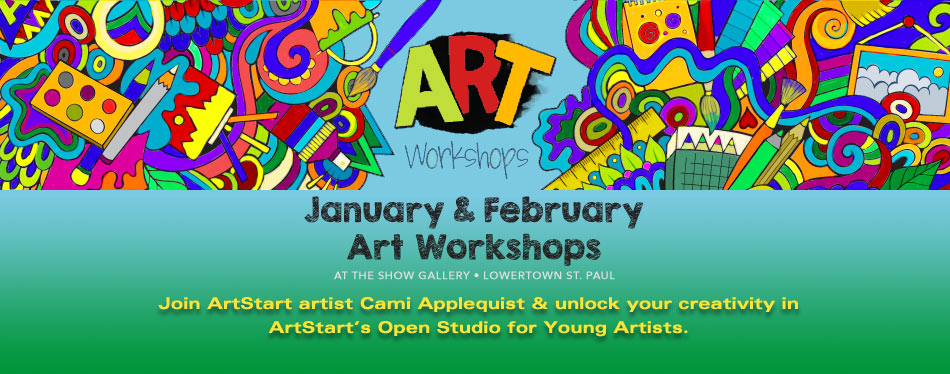 Jan Feb Art Workshops