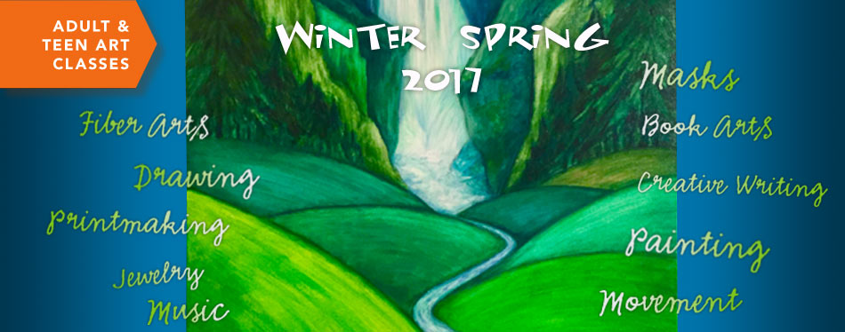 Winter Spring Teen and Adult Classes 2017