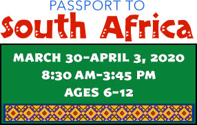 Passport to South Africa