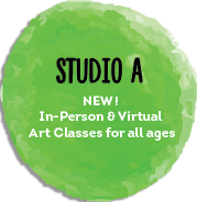 STUDIO A. Reigister for live virtual art classes and camps for all ages